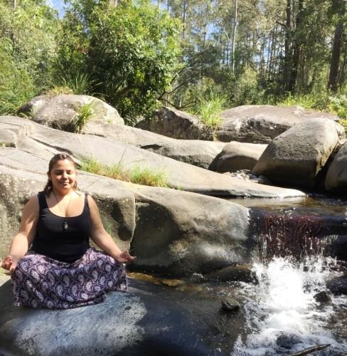 Deena Meditating