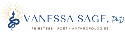 Vanessa Sage – Priestess Training Logo